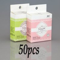 Wholesale Women Pro Makeup Cosmetic Deep Facial Cleaning Soft Cotton Pads Remover tower Wipes Clean Paper make up Nail HZM01