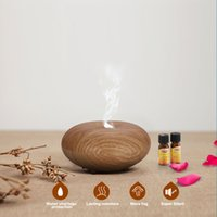 Wholesale Aromatherapy Essential Oil Diffuser dry protect ultrasonic diffuser ultrasonic humidifier Aroma Portable air humidifier Home