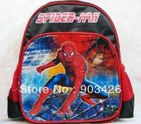 Wholesale by DHL UPS High Quality Spider Man Children s School Bag Rucksack Cartoon School Backpack G2307