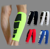 baseball aids - 2016 Compression Leg joggers Sleeves Calf Guard Skin Protector fitness basketball running Aids Faster Recovery