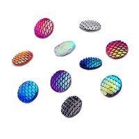 Wholesale 2016 hot Fish scales noosa button snap bracelet fluorescent chunks for Noosa bracelet