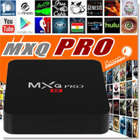 quad core cpu - MXQ and MXQ Pro K Android TV BOX Amlogic S905 Streaming Media Player Quad Core ARM Cortex A53 CPU GHz XBMC Kodi Box Full Loaded G G