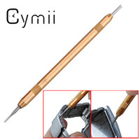 Wholesale Cymii Two Watch Fork Tip Spring Bar Strap for Band Remover Watch Repair Tool Kits Punch Pin Tip