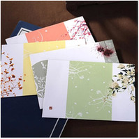 Wholesale Hot Sale Colorful Flower Pattern Beautiful Craft Custom Storage Envelope Nice Postcards Stationery Family Envelope Gifts PL
