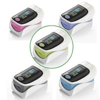 alarm purple - OLED Fingertip Pulse Oximeter alarm Spo2 Blood Monitor directions modes colors available blue grey pink purple green English Spanish