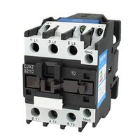 Wholesale V A Phase P NO AC Contactor DIN Rail Mount V Coil CJX2