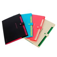 best color copiers - Best Price Waterproof Book A4 Paper File Folder Bag Accordion Style Design Document Rectangle Office Home School Color Random