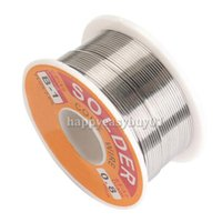 Wholesale Hot Sale mm New Tin Lead Tin Wire Melt Rosin Core Solder Soldering Wire Roll E5M1 order lt no track