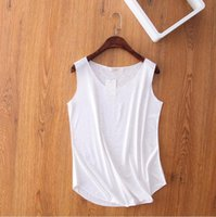 acrylic counter tops - Dill Top Female Summer New Flash Blouse Camisole Loose Top Blouse Autumn Colored Counters White Cotton