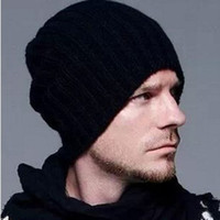 Wholesale Beckham knitting hat hot sale Men and women fashion hat for winter Beanie Skull Caps