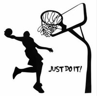 basketball charts - Just Do It Basketball Wall Decal DIY Removable Sports Home Room Decor Wall Sticker Wallpaper Art