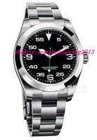 airs steel wristwatch - New Luxury Wristwatch Original Box Air King Neu OVP Papiere Box Ref Neues Mode Automatic Men Watch Men s Watch Watches
