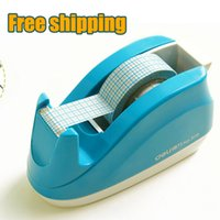 Wholesale pc Tape dispenser small size candy color for adhesive tape width less than mm easy to use X6X5 inside