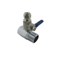 Wholesale Tap Feed RO Reverse Osmosis quot Thread Male to quot tube Ball Valve Water Faucet