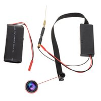 Wholesale HD p Mini DV Spy IP Camera WiFi DIY Camera Module Wireless Hidden Video Camera Degree With cm Lens Cable Support APP Remote View