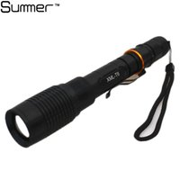 big lumen - hot New Powerful Zoom lumen lantern rechargeable Cree XM L T6 Big LED Tactical Police Flashlight Torch