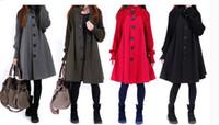 Wholesale New arrival female hot sale fashion noble ladies wool coat female Korean cape coat loose tide coat