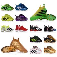 Wholesale New oriGINal mens outdoor high ankle football boots for men ACE pureCONtrol AG FG soccer shoes pure CONtroL soccer cleats