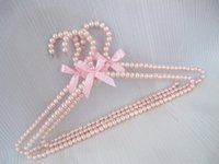 Wholesale Pearl Hanger for Dresses Beads Hanger fashion beautiful beads pearl hanger clothes rack