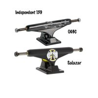 axles truck - Independent Truck mm Black Skateboard Trucks with Aluminum Hangers and Baseplates amp Chromoly Steel Axles for