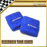 Wholesale New Blue Spoon Sports Reservoir Tank Cover FOR UNIVERSAL JDM Car Accessories Styling