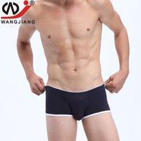 arrival pj - New Arrival WJ pc men underwear spandex fabric painting design mens underwear boxers cueca boxer men calzoncillos PJ
