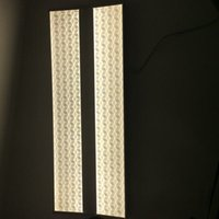Wholesale High Quality Bow shaped x800mm W W LED Dimmable Hang Panel Light with Stereo Large Illumination Effect