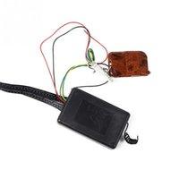 Wholesale 5050 LED delayed a colorful car decorative lights Under Car LED Kit Remote Decorative lights Black