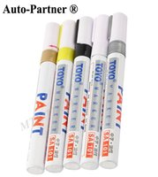 Wholesale Gold Color Painting Pen Car Motorcycle Whatproof Permanent Tyre Tire Tread Rubber Paint Marker Pen