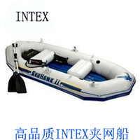 Wholesale inflatable ship Intex inflatable boat seahawks sports ship rubber boat emergency boat