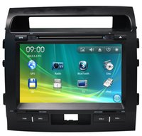 atv din - 9 inch Car DVD Player for Toyota Land Cruiser Car Electronics With BT SD USB ATV RDS IPOD G SD Map Freeshipping