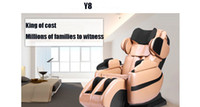 Wholesale DHL Household electric multifunction body massage sofa chair luxury space capsule massage chair