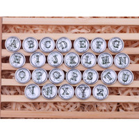 Wholesale noosa buttons Pendant Bracelet mm letters Snap button buttoned ginger shoot total letters A to S Valentine s Day present AC307