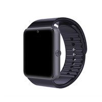apple compatible lots - DHL SmartWatch GT08 Clock Sync Notifier With Sim Bluetooth Smart Watch for Apple iPhone IOS Samsung Android Phone