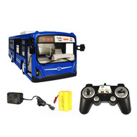 battery electric bus - 2 GHz RC remote bus charging dynamic super remote control simulation toy bus children senior gift
