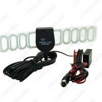Precio de Car antenna amplifier-10set / lot para el conectador del coche F Antena activa de la TV DVB-T con el amplificador incorporado, tiempo de la larga vida