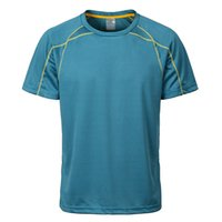 Wholesale Man Sport T shirt Fitness Quick Dry Casual Stretch Top Tee Shirt