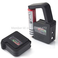 Wholesale Brand new and High quality Universal Battery Volt Tester AA AAA C D V V Button Cell Checker