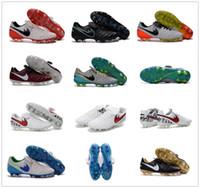 Wholesale New Arrival Legendary Generation FG Tiempo Legend VI FG Low Soccer Shoes Men Football Boots Cleats Soccer Shoes Size US