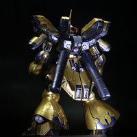 big msn - Anime Plating color series gold MSN SAZABI Gundam Ver ka model cm Robot Puzzle assembled boy toys collection gifts
