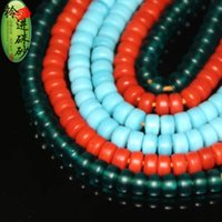 Wholesale glass beads color Nepal ancient Pharaoh DIY spacer beads beads bracelet material accessories accessories