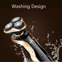 Wholesale Ipx7 d Rotary Electric Shavers For Men Systemic Waterproof Rechargeable Male Shaver Razor Head Washable Man Shavers
