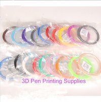 Wholesale Printing Supplies For D Printing Pen Drawing Pen DIY D Printing Materials ABS ABS Filament