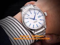 aqua boxes - New Luxury MM Aqua Terra M Stainless Steel Automatic Mechanical Men s Watch Gift Wood Box
