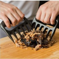 Wholesale Grizzly Bear Paws Claws Meat Handlers Fork Tongs Clip Pull Shred Lift Toss Pork BBQ Barbecue Tools Accessories