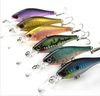 Wholesale Fishing Lure Minnow Crankbait Hard Bait Fresh Water Shallow Water Bass Walleye Crappie Minnow bait Fishing Tackle cm g