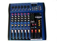Wholesale LAIKESI mixer ultra thin mixer CT60S USB professional road mixer professional stage performances Sound equipment mixer DJ mixer audio
