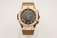 belt buckles store - famous jason007 store Luxury Brand watch men big bang classic fusion Watch men quartz chronograph brown leather belt watch Mens dive Watches