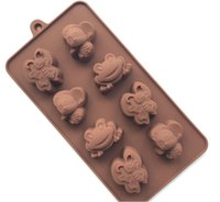 Wholesale Butterfly Character Silicone Cake Baking Mold Diy Pastry Decor Tool Fondant Mousse Chocolate Biscuit Soap Pudding Waffle Maker
