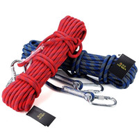 Wholesale 10 Meters Professional Rock Climbing Rope KN mm Diameter Downhill Rope Nylon Cord Rope For Caving And Canyoning
